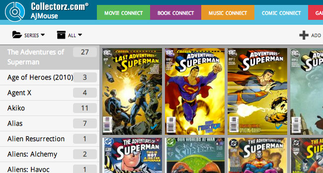Online comic book database software » Comic Connect
