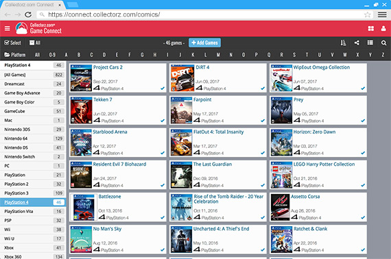 online game database